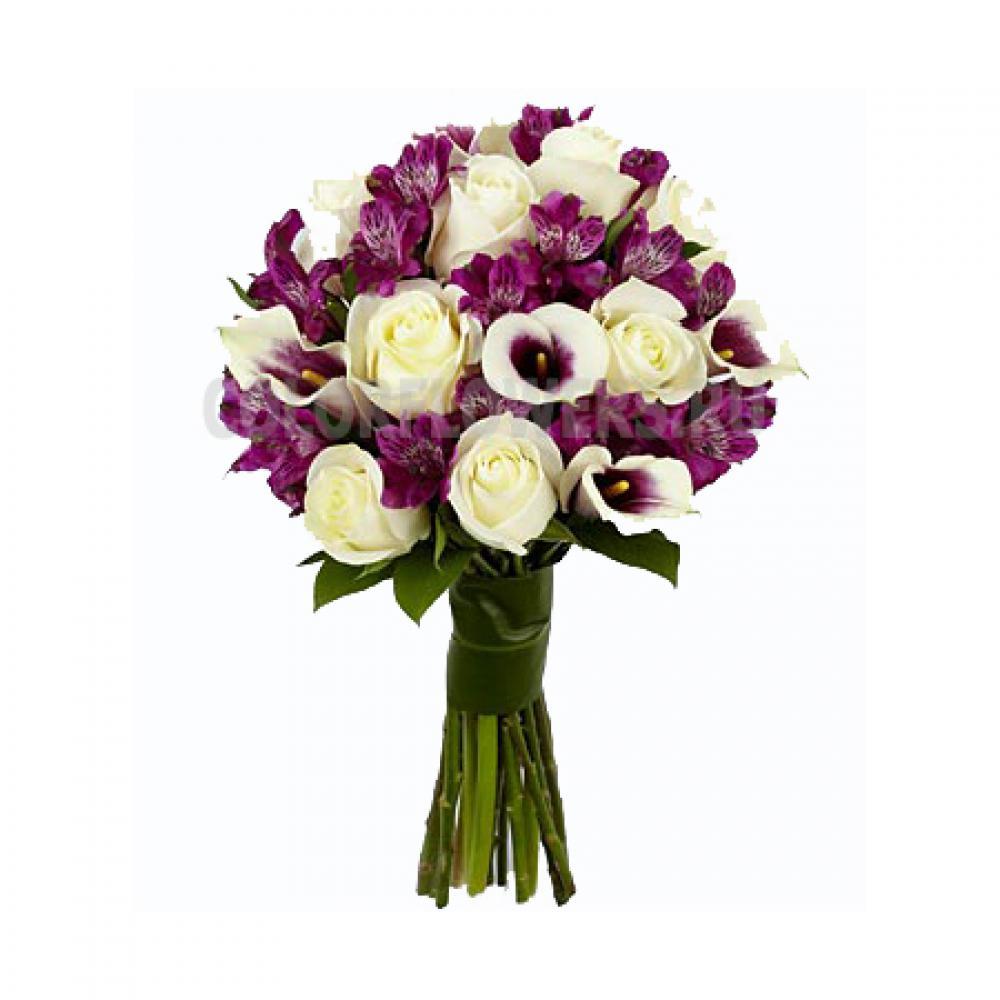 Свадебный букет заказать цена иркутск, цветов